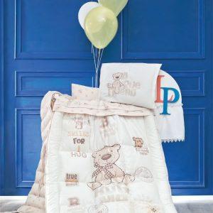 سرویس لحاف ۸تکه گارددار نوزاد مدل Bernard برند لوکاپاتیسکا