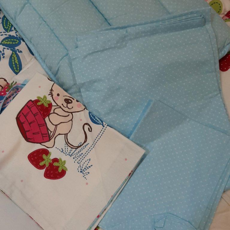 سرویس لحاف 6تکه نوزادی مدل Strawberry برند لوکاپاتیسکا